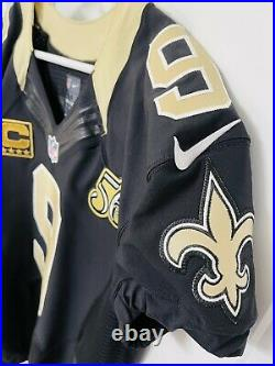 Authentic Drew Brees New Orleans Saints Nike 44 Jersey PRO GAME TEAM ISSUED 2016