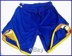 Authentic Golden State Warriors Jersey Shorts Jeremy Lin Game Worn Team Issued