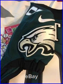 Authentic Jordan Matthews Game/Team Issued Jersey Philadelphia Eagles Nike Elite