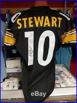 Authentic KORDELL STEWART Pro Line Game Issue Autograph Steelers Jersey GAMER