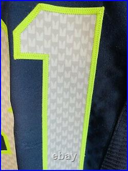 Authentic Kam Chancellor Seattle Seahawks Nike 40 Jersey GAME CUT TEAM ISSUED