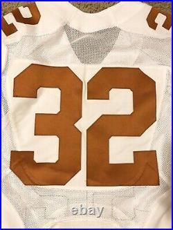 Authentic Nike Texas Longhorns Game Used Worn Issued Football Jersey #32