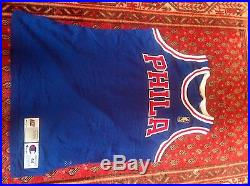 Authentic Phila 76ers 50th Anniversary 1996-97 Team Issued Game Jersey Size 44