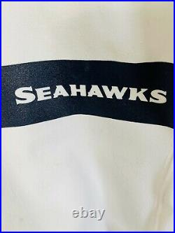 Authentic Russell Wilson Seattle Seahawks Nike 44 Jersey GAME TEAM ISSUED 2019