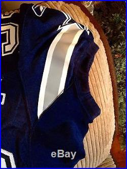 Brandon Williams Game Worn/ Issued Navy Dallas Jersey