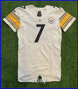 Ben Roethlisberger Pittsburgh Steelers 2014 Game Issued Jersey Mears LOA