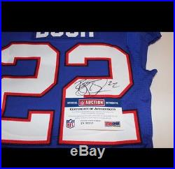 Bills 2016 Reggie Bush Game Issued And Signed Jersey (october 16 2016) Rare