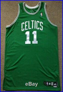 Boston Celtics Game Worn/Used Team Issued Jersey. #11 Luke Jackson