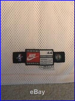 Boston Celtics Nike 1997-98 Blank Pro Cut Authentic Game Issued Jersey 44 Large