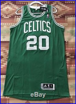 1d185145e Boston Celtics Ray Allen Pro Cut Issued Authentic Game Jersey Adidas Rev30  NBA