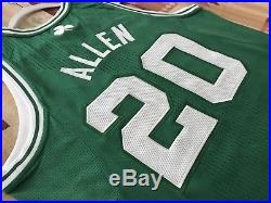 Boston Celtics Ray Allen Pro Cut Team Issued Authentic Game Jersey Rev30 Irving