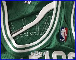 Boston Celtics Ray Allen Pro Cut Team Issued Game Jersey Authentic Rev30 Irving