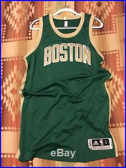 Boston Celtics St Patricks Day Pro Cut Team Issued Authentic Blank Game Jersey