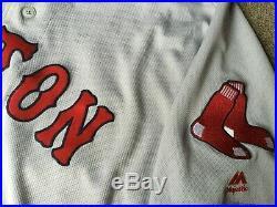 Boston Red Sox Game worn/used team issued away Postseason jersey #23 SWIHART