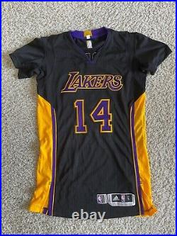 Brandon Ingram pro cut jersey Sz L Hollywood Night Lakers Game issued/used