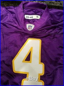 Bret Favre Vikings Jersey Authentic Procut Game Team Issue HOF