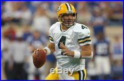 Brett Favre Green Bay Packers Away Game Issued Reebok Jersey from 2004 Season