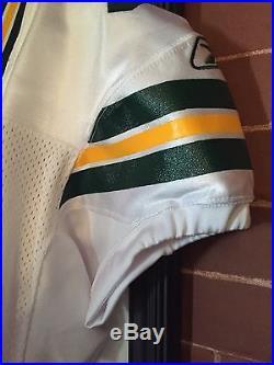 Brett Favre Green Bay Packers Team Issued Game Jersey Not Worn With Team Hangar