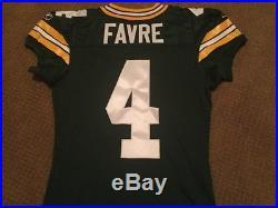 Brett Favre Team Issued Jersey Green Bay Packers Game Jersey