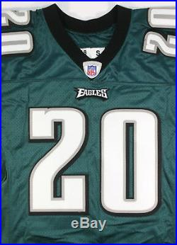 Brian Dawkins 2005 Philadelphia Eagles Team Game Issued Home Jersey