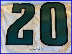 Brian Dawkins Philadelphia Eagles Game Issued Un Worn Jersey 1999 Puma