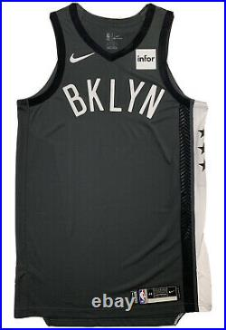 Brooklyn Nets Nike Authentic Pro Cut Game Issued Blank Jersey Size 48+4