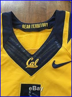 Bryce Treggs Cal Bears Team Issued Game Jersey