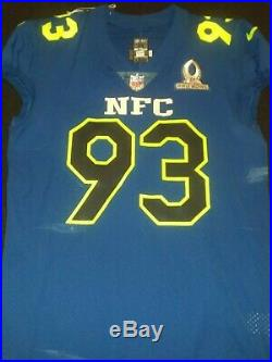 Bucs Gerald McCoy Game used Game worn Game issued Probowl Jersey with NFL COA