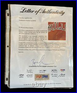 Bulls Jordan Sand Knit Game Worn Issued Warm up 1987 UDA PSA Champion Jersey
