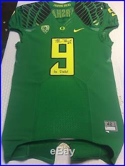 Byron Marshall Oregon Ducks Team Issued Game Jersey Not Worn