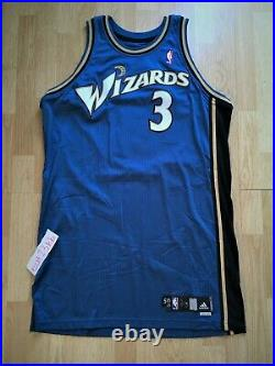 CARON BUTLER Washington Wizards Adidas game issued jersey pro cut authentic