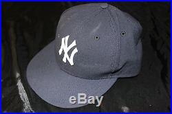 CC Sabathia game used/issued Yankees jersey & complete uniform STEINER