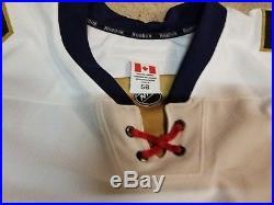 CHASE BALISY 16'17 White Florida Panthers Reebok Game Issued Hockey Jersey 56