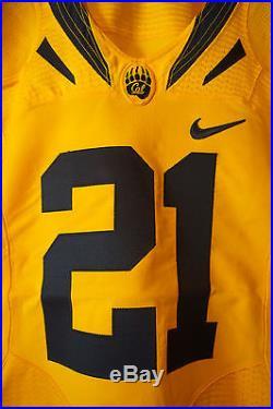 California Golden Bears Game Issue Keenan Allen 2011-12 #21 Home Gold Jersey