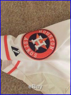 Carlos correa game used/issued Jersey Houston Astros