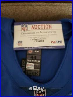 Carolina Panther Luke Kuechly Game Issued 2019 Pro Bowl Jersey NFL coa jsa