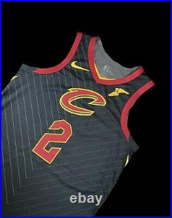 Cavs Collin Sexton Statement Rookie Game Jersey NBA Used Worn Issued 46+4 NBA
