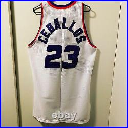 Cedric Ceballos 1993-94 Phoenix Suns Game Worn Jersey Game Issued Champion 46+3