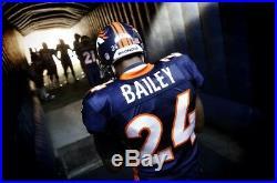 Champ Bailey Denver Broncos Reebok Game Team Issued Broncos Jersey Size 48 2003