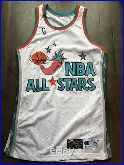 Champion Game Jersey All Star Game Issued 1996 San Antonio Blank Pro Cut
