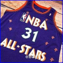Champion Reggie Miller 95 All Star Game Pro Cut Jersey Issued Used Authentic