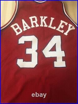 Charles Barkley Game Used, Worn, Issued Jersey Nba 1989 Philadelphia 76ers, Suns