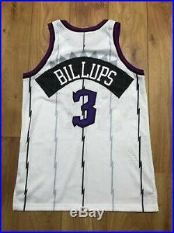 Chauncey Billups Toronto Raptors Game Issued Jersey NBA