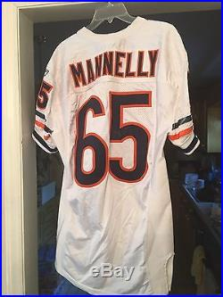 Chicago Bears Game Issued Patrick Mannelly No. 65 Autograph Jersey PSA DNA