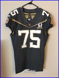 Chicago Bears Kyle Long Pro Bowl Game Issued Jersey