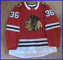 Chicago Blackhawks Game Worn Jersey MiC Team Issue