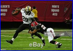 Chris Ivory #29 New Orleans Saints Size 42 Game Issued Jersey