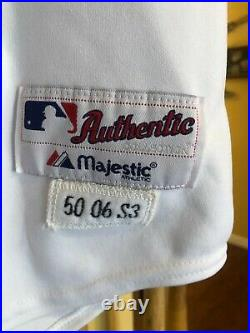 Chris REITSMA Game Worn/Used/Issued 2006 Atlanta Braves Jersey #37