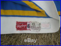 Circa 1970 St Louis Blues Game Issued Home Hockey Jersey