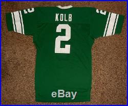 Circa 1980-81 Michigan State Spartans Game Worn Issued Jersey, QB Rick Kolb